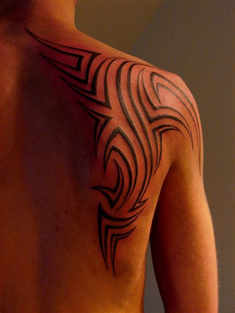 tattoo tribal designs on shoulder tattoo design tribal