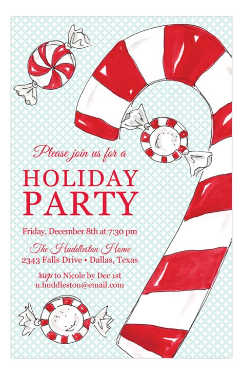 Large Family Christmas Party Ideas - holiday party invitations