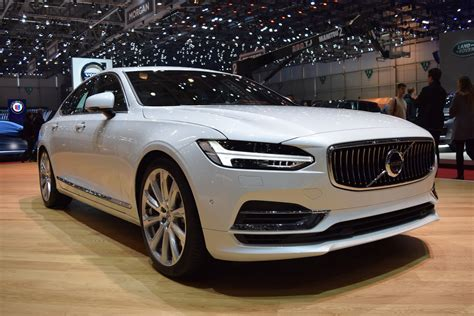volvo sedan volvo s90 sedan looking sharp on geneva floors