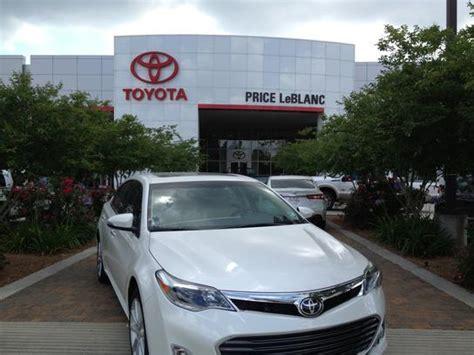 Toyota Dealers Baton Price Leblanc Toyota Car Dealership In Baton La