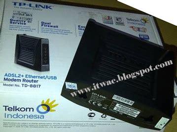 Modem Speedy Tp Link Td 8817 cara setting modem speedy tp link td 8817 it wae