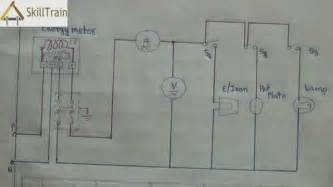 diagammatic representation of simple house wiring hindi
