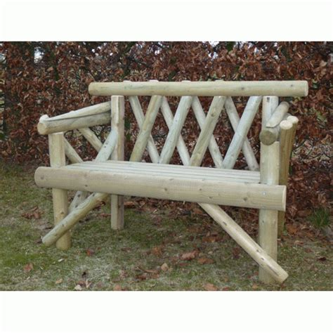 rustic bench seat 4ft deluxe rustic bench seat delivered fully assembled