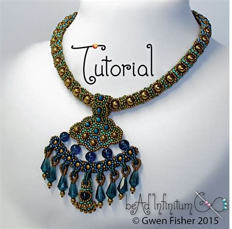 Beaded Pendant Necklace gwenbeads new tutorial delta necklace with beaded