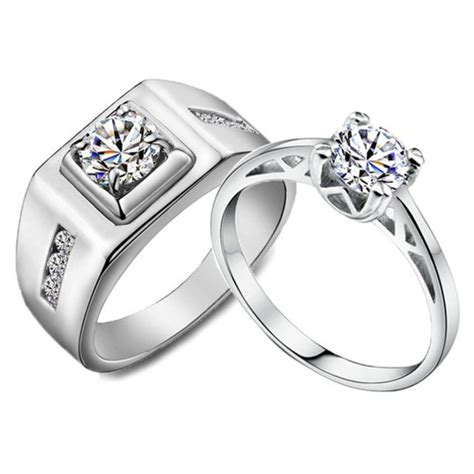 jewels engagement ring his and hers rings sterling
