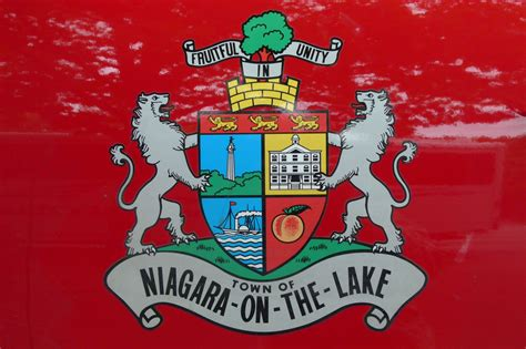 On The by File Niagara On The Lake Coat Of Arms Jpg Wikimedia Commons