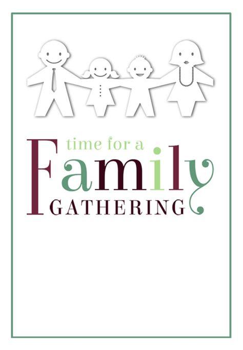 Free Printable Family Reunion Invitation Templates Diabetesmang Info Gathering Invitation Template