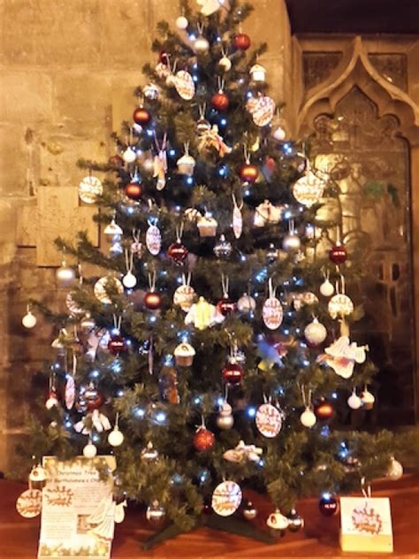 village arena messy cafe church christmas tree