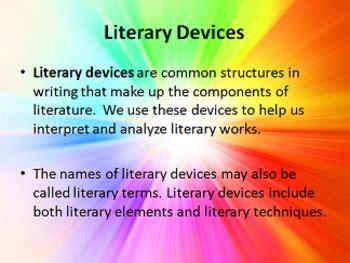 themes in literature prezi literary devices elements techniques powerpoint prezi
