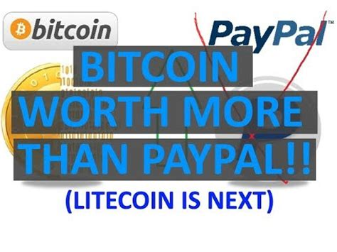 bitconnect for litecoin bitcoin worth more than paypal litecoin is next youtube