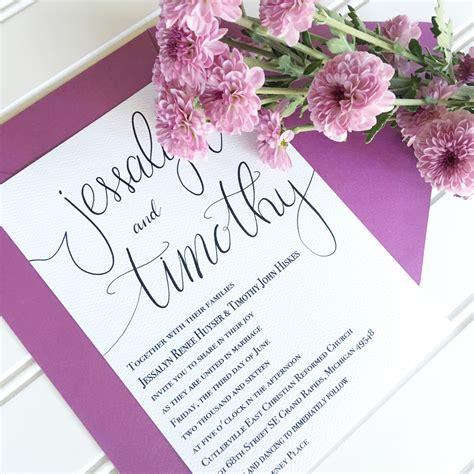 custom wedding invitations connecticut hadley designs featured invitations