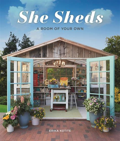 She Shed Book | potting shed featured in she sheds a room of your own