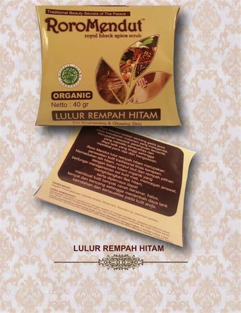 Serum Roro Mendut roro mendut organics skincare buy fresh skincare product on alibaba