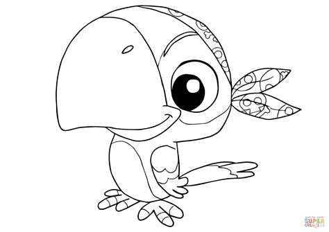 Skully From Jake And The Neverland Pirates Coloring Page Jake Coloring Page