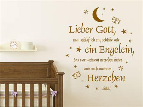 Wandtattoo Kinderzimmer Neutral by Wandtattoo Abendgebet Mit Sternen Wandtattoo De