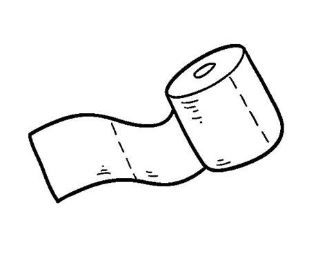 dessin sur papier toilette coloriage de rouleau de papier toilette pour colorier