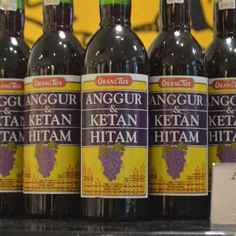 Anggur Cap Orang Tua khasiat anggur kolesom cap orang tua pusaka dunia
