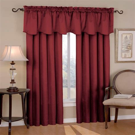 curtains 95 length eclipse canova blackout burgundy curtain panel 95 in