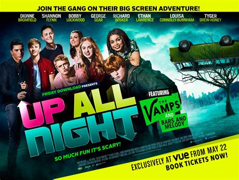 Film Up All Night 2015 | banks wag hit the big screen this week the
