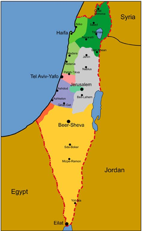 israel map today israeli environment new mall seeks to green the negev