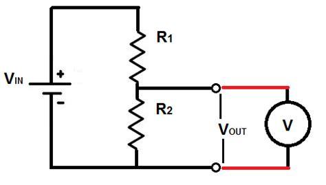 resistor divider output voltage divider output with analog voltmeter electrical engineering stack exchange