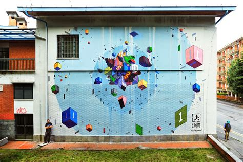 New Etnik by Etnik New Mural Pinerolo Italy Streetartnews