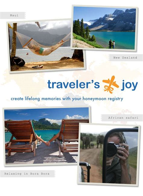 Wedding Registry For Travel by 17 Best Images About Honeymoon Registry On
