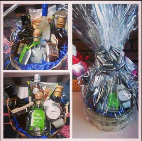 how to make a basket for him gift basket for him bottles range 10 20 each add a
