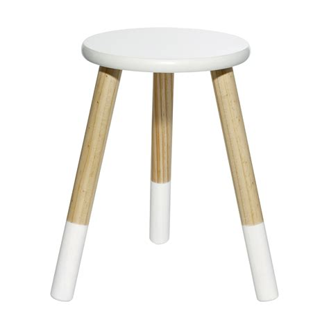 white poo stool white kmart