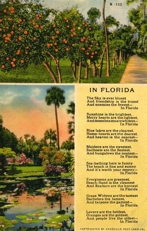 florida memory  florida poem
