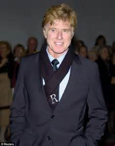 did robert redford dye his hair when he ws young has redhead robert redford 73 reached for the hair dye