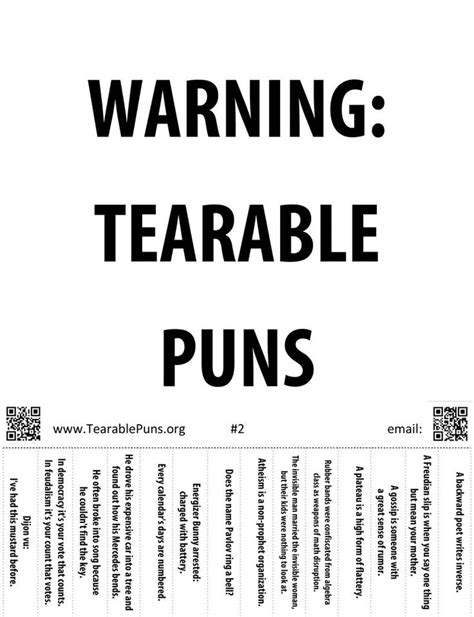 best printable jokes 31 best operation caring tear off tab flyer tearable