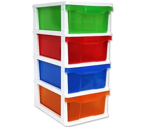 Plastic Storage Drawers Australia by Plastic Storage Drawers On Wheels Jelly Colours