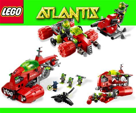 Lego 8075 Atlantis lego atlantis 8075 neptuns u boat diving carrier new ebay
