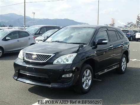 toyota harrier 2008 used 2008 toyota harrier 240g cba acu30w for sale bf595297