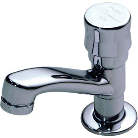 Symmons Metering Faucet by Symmons Metering Faucet Chrome Single Handle 1 2 Gpm Hd