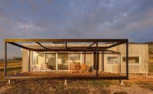 solar powered modular cabin exists completely the grid