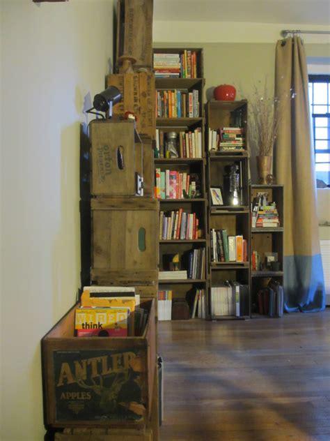 wooden crate shelves crate shelves 25 diys guide patterns