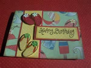 best handmade cards for birthday flip flop happy birthday handmade greeting card