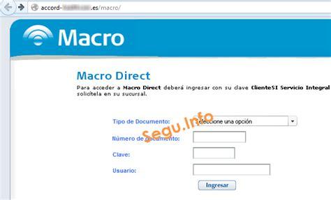 banco macro on line nuevo phishing a banco macro utiliza flash segu info