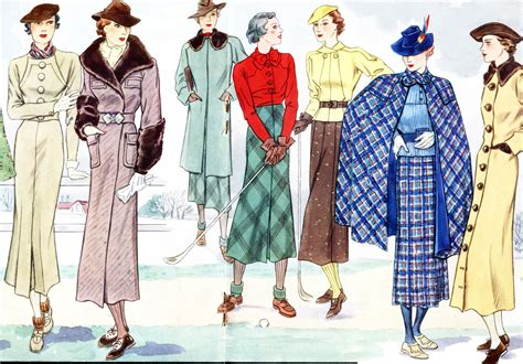 womens fashion mid thurtys amazing collection of 1930s fashion pictures