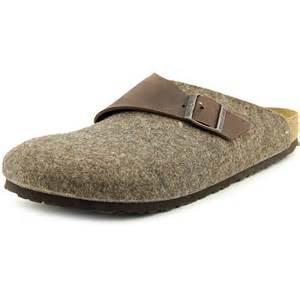 Home shoes mens slip ons basel men n s textile brown clogs