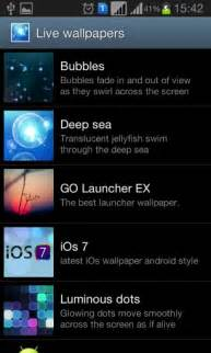 live themes for ios ios 7 live wallpaper app for android