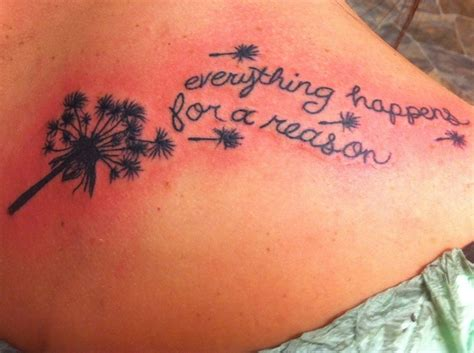 everything happens for a reason tattoo designs everything happens for a reason want it