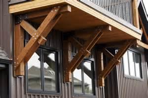 Decorative Exterior Wood Brackets Bracket Traditional Exterior Edmonton By Habitat