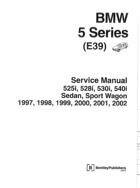 car service manuals pdf 1999 bmw 5 series auto manual bmw 5 series e39 service manual pdf