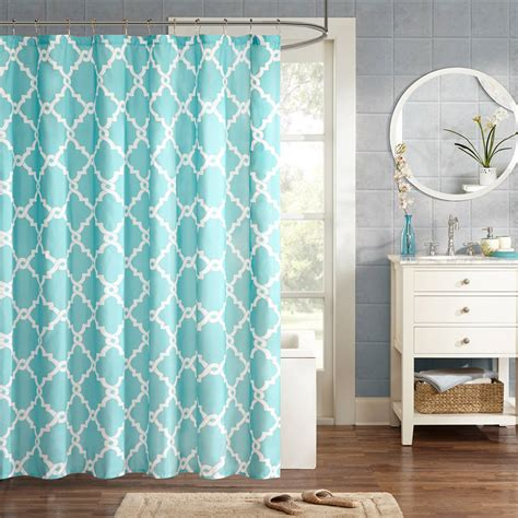 shower curtains home essence spa waffle shower curtain with 3m treatment