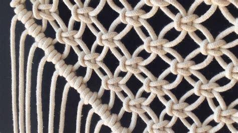 How To Do Macrame - how to do macrame knots diagonal half hitch