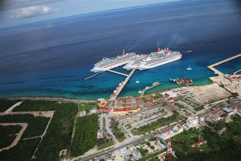 cruise cozumel new third berth opens at carnival corporation s puerta