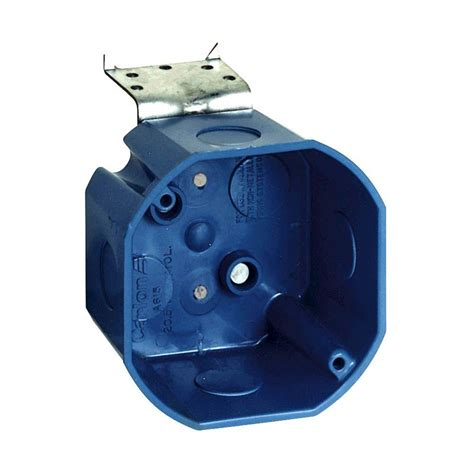 home depot ceiling l 4 in octagon ceiling box with l bracket a615del the